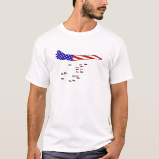 Amerikanischer Bomber T-Shirt