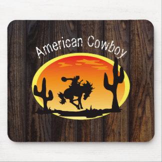 Amerikanischer Cowboy Mousepad