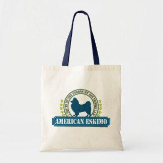 Amerikanischer Eskimo Tragetasche