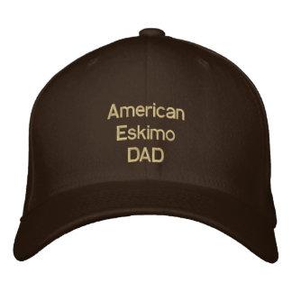 Amerikanischer Eskimo-VATI Bestickte Baseballkappe