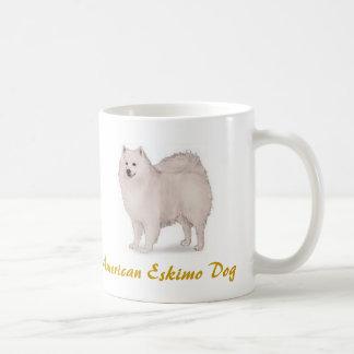 Amerikanischer Eskimohund, Hundeklotz-Liebhaber Kaffeetasse