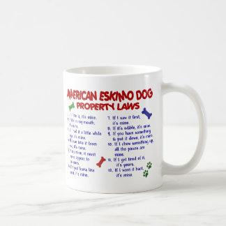 AMERIKANISCHER ESKIMOhund PL2 Kaffeetasse