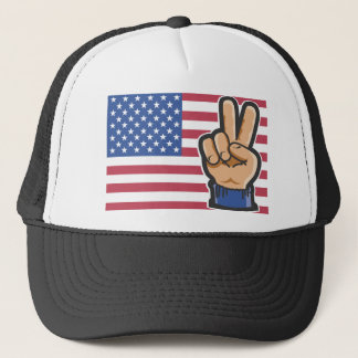 Amerikanischer Sieg Truckerkappe