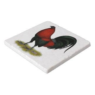 Amerikanischer Spiel BB Schwarz-Rot-Hahn Töpfeuntersetzer