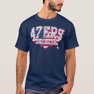 Amerikanisches 47ers 47% Romney Sprachet-shirt T-Shirt