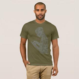Amerikanisches Gebet (Armee mit Grau) T-Shirt
