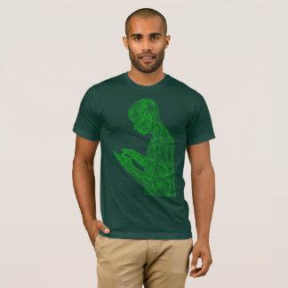 Amerikanisches Gebet (Wald mit Neongrün) T-Shirt