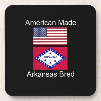 """""""Amerikanisches geborenes. Arkansas züchtete"""" Untersetzer"""