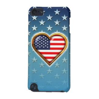 Amerikanisches Herz iPod Touch 5G Hülle