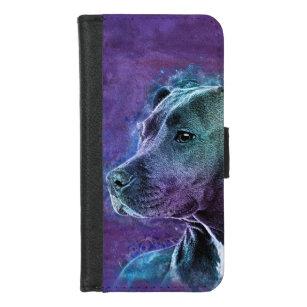Amerikanisches Staffordshire Terrier - Amstaff iPhone 8/7 Geldbeutel-Hülle