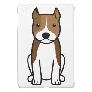 Amerikanisches Staffordshire-Terrier-HundeCartoon iPad Mini Hülle