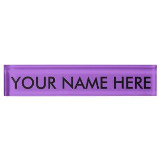 AMETHYST LILA (Normallack) ~ Schreibtischplakette