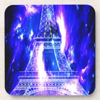 Amethyst Saphir-Paris-Träume Getränkeuntersetzer