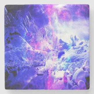 Amethyst Weihnachten-Nachtträume Steinuntersetzer