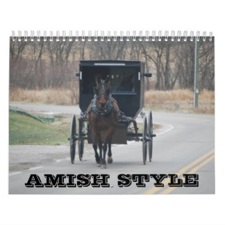 Amischer Art-Kalender Kalender