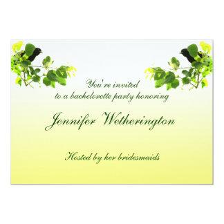 Amsel-Junggeselinnen-Abschied 12,7 X 17,8 Cm Einladungskarte