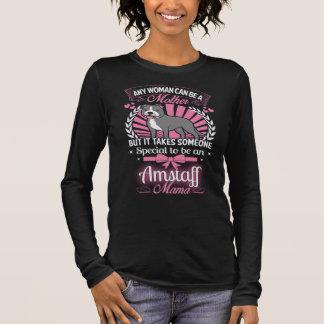 Amstaff Mutter Langärmeliges T-Shirt
