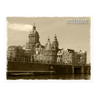 Amsterdam, Netherland Postkarte