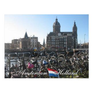 Amsterdam-Postkarte Postkarten
