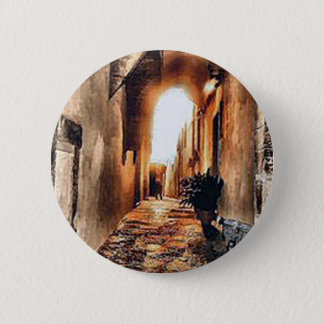 an-alleyway-in-Florence.jpg Runder Button 5,1 Cm