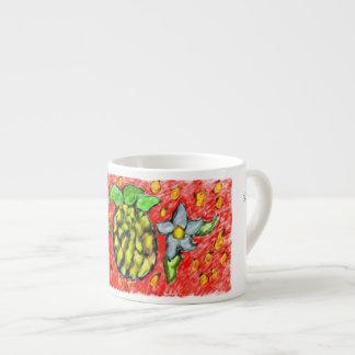 Ananas-Blumen Espressotasse