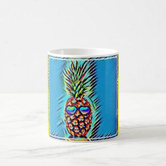 Ananas-Kaffee-Tasse Tasse