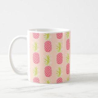 Ananas-Muster Tasse