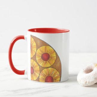Ananas-Oberseite - backen Sie unten Tasse
