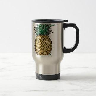 Ananas Reisebecher