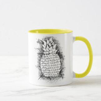 Ananas-Schmutz Tasse