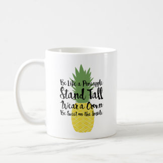 Ananas-Tasse Kaffeetasse