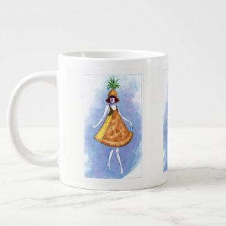 Ananas-Torten-Tasse Jumbo-Tassen