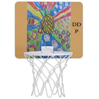 Ananaskunst Mini Basketball Netz