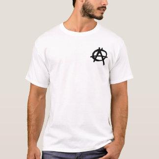 Anarchielogo (Schwarzes) T - Shirt