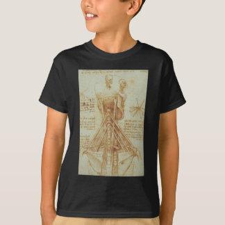 Anatomie des Halses durch Leonardo da Vinci C. T-Shirt