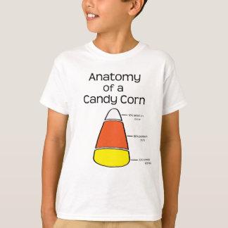 Anatomie eines Süßigkeits-Mais T-Shirt