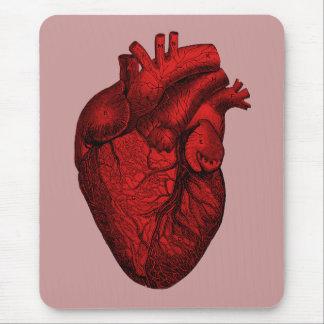 Anatomisches menschliches Herz Mousepads