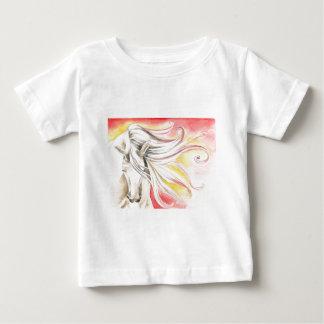 Andalusisches Sonnenschein-Pferd Baby T-shirt