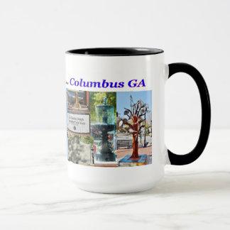 Andenken-Kaffee-Tasse, Columbus GA Tasse