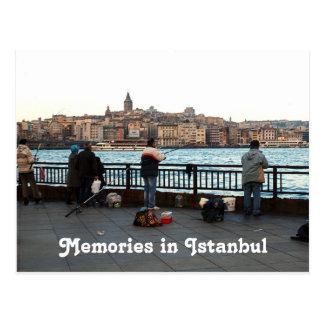 Andenken-Postkarte der Türkei Istanbul für Postkarte