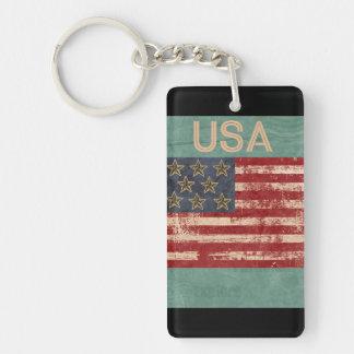 Andenken USA Keychain Schlüsselanhänger