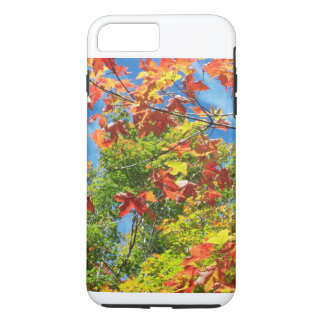 Ändernder Blätter-Natur-IPod-Kasten iPhone 8 Plus/7 Plus Hülle