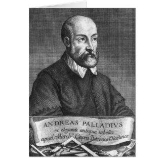 Andrea Palladio graviert von Francesco Karte