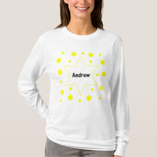 Andrew (Gelbsterne) T-Shirt