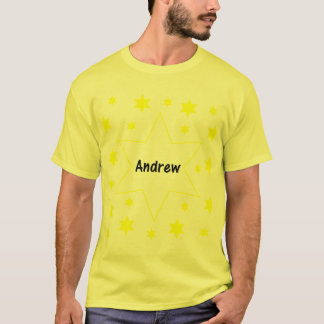 Andrew (Gelbsterne) T-Shirt