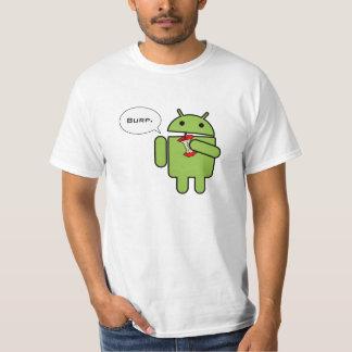 Android gegen Apple und der Sieger ist Hemden