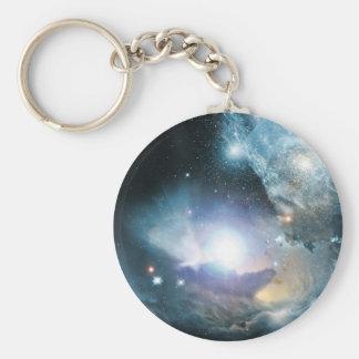 Anfang des Universums Standard Runder Schlüsselanhänger