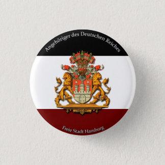 Angehöriger DES Deutschen Reiches Runder Button 3,2 Cm