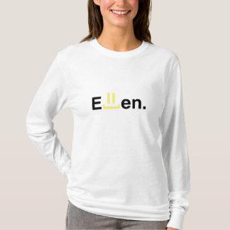 Angepasste mit Kapuze lange Hülse der Damen: Ellen T-Shirt