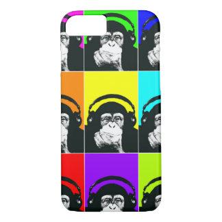 Angesagter Affe-Pop-Kunst-Telefon-Kasten iPhone 7 Hülle